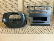 05-07 Bmw E60 525 530 545 550 Xi/i Steering Wheel Climate Plastic Covers 3-8