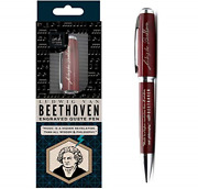 Beethoven Engraved Quote Pen - Music Is A Higher Revelation Than All Wisdom And
