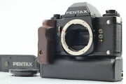 [near Mint] Pentax Lx Late Model 35mm Slr Film Camera Winder And Strap From Japan