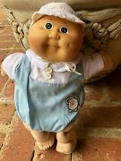 Vintage Cabbage Patch Doll 1978-1982.signed Boy 67 Ss Body Tag