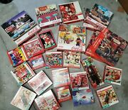 Lot Of 25 Coca Cola Vintage Puzzles A Few New Most Used