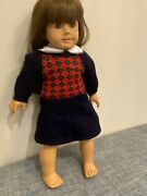 Signed 1612 Vintage 1987 American Girl Molly Doll With Coa