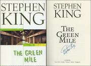 The Green Mile Hardcover First Edition/1st Printing Signed By Stephen King