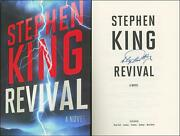 Revival Hardcover First Edition/1st Printing Signed By Stephen King