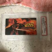 Star Wars Card Darth Vader Revenge Of The Sith Promo 1/1 Topps