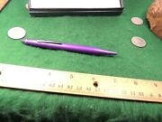 Cross Ball Point Stylus Purple Violet Pen Boxed Never Used A Rare Cross