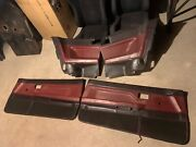 1985 Toyota Corolla Gts Rear And Door Panels For A Coupe