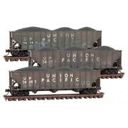 Micro-trains Mtl N Union Pacific Weathered Hopper 3-pack 99305920