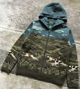 Stunning Landscape Paintings 90's Do-chan Dog Pattern Knit Hoodie