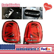 For 2014-2018 Mini Cooper F55 F56 F57 Led Union Jack Tail Lights /lamps Red Sale