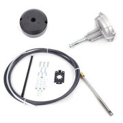 Ss13712 Safe-t Qc 12ft Rotary Outboard Steering System Kit Cableand Helm Marine