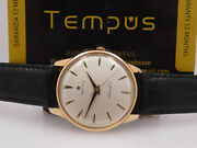 Zenith Stellina Automatic Bumper 18 Kt Rose Gold Year 1962 Just Serviced Watch