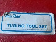 Blue Point Brake Pipe Flaring Tubing Tool Set Tf-528-d Manufactured For Snap On
