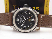 Armand Nicolet Tramelan Military 46mm A713 Box And Papers Never Worn Steel Watch