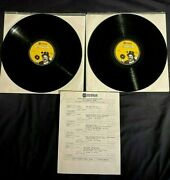 1988 Dr Demento 2 Lp Radio Show Frank Zappa Interview + 5 Songs Shaggs The Firm
