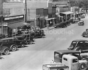 Coca Cola Signs Dotting Main Street 1930s Classic 8 By 10 Reprint Photograph