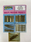 Atlas Ho Scale Code 100 Brass Rail Joiners Package Of 288 54 Nos