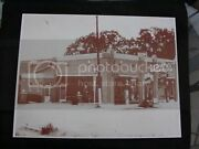 1930s Texaco Gas Station Old Gas Visible Pumps 8.5 By 11 Reprint Photograph