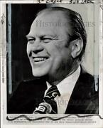 1974 Press Photo Vice President Gerald Ford On Meet The Press In Dc