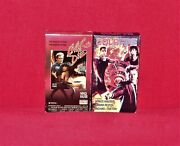 Living To Die Wings Hauser Coldfire Rare Vhs Action B-movie Cops Detectives 2ct