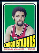 1972-73 Topps Basketball 231 Charlie Williams Nm-mt San Diego Conquistadors Aba