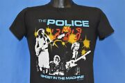 Vtg 80s The Police Ghost In The Machine Tour 1982 New Wave Rock Band T-shirt S