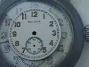 Ww2 Wwii Era Bulova Nos Military Dial Us Army Issued Watch A-11 Ord Dept 25.5mm