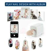 New Release Nail Printer Machine M1 Portable Mobile Art Equipment For Home