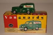 Vanguards 1950and039s Austin A40 Panel Van Ransomes Lawn Mower 1/43 Scale Boxed