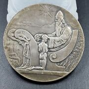 Iceland Medal 1000 Years Althing Silver 10 Kronur 1930 Ch Bu Unc, 3s A Party