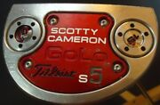 Titleist Scotty Cameron Golo S5 34and039and039 Center Shaft Putter