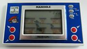 Nintendo Game And Watch Gw Manhole Mh-103 Handheld Video Game Vintage Mint Cond