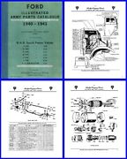 Ford Blitz Cmp Truck Illustrated Parts Catalogue On Dvd For F8 F15 F30 F60 Etc
