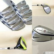 Nike Tiger Woods Limited Edition Set 3p + 56' 60' Wedges +tw Driver 11x Pcs