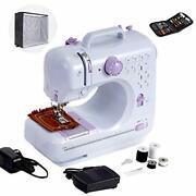 Mini Sewing Machine For Beginner Small Heavy Duty Sewing Machine Portable For...