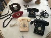 5vintage/retro Rotary/touch Tone Bell System Western Electric Phones