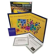 First State Quarters Of The United States Collectors Map 1999 2008 New Open Box