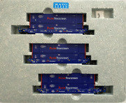 Kato N Scale Maxi-iv 3 Well Car Set Pacer With 6 Containers 6066 106-6180