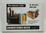 Downtown Deco Models The Atomic Cafe O Scale Model Kit Dd-1067 New Unbuilt