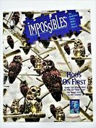 Jigsaw Puzzle Hooand039s On First Bepuzzled Impossibles 750 Plus 5 Extra Sealed Bag