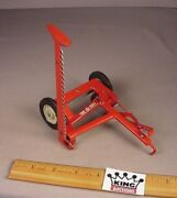 Vintage 1950and039s Carters Tru Scale Sickle Bar Mower116 Metal Farm Tractor Toy