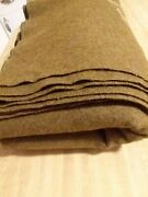 Excellant Condition Vintage Army M-1934 Od Wool Blanket.
