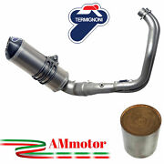 Termignoni Full Exhaust System Yamaha Xsr 700 2017 Motorcycle Titanium Approved