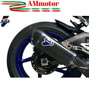 Exhaust Muffler Yamaha Yzf R1 2015 15 Motorcycle Termignoni Force Carbon New