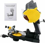 Yaetek Electric Chainsaw Sharpener Chain Saw Grinder 4800rpm Bench Wall Or Vise