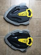 2x Nerf Shield Stonewall N Force Black Yellow Live Action Role Play Cosplay Larp