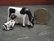 Dollhouse Miniature Cow And Calf Set Animals A13 148 Quarter Scale Dollys Gallery