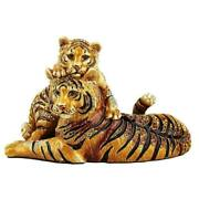 Jay Strongwater Chelle And Clara Tiger Figurine Sdh1846-280