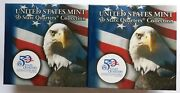 Us Mint 50 State Quarters Collection Montana Two Bu 10 Rolls P And D Mints