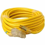 Coleman 043888802 Sjtw Heavy Duty Extension Cord 10 Awg 50 Ft.